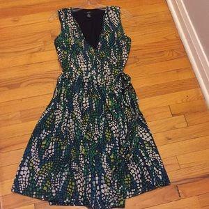 Alfani women's wrap sleeveless dress